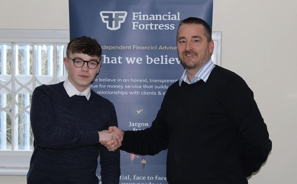 Financial Fortress welcome a new member to the team !