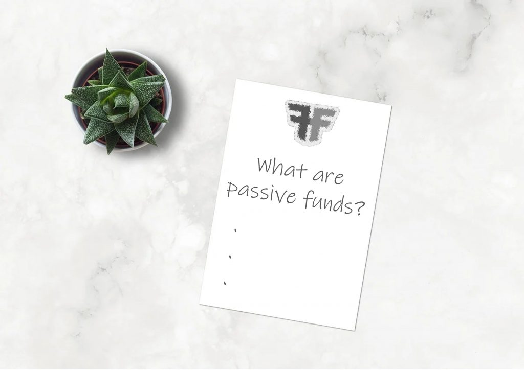 What are passive funds?