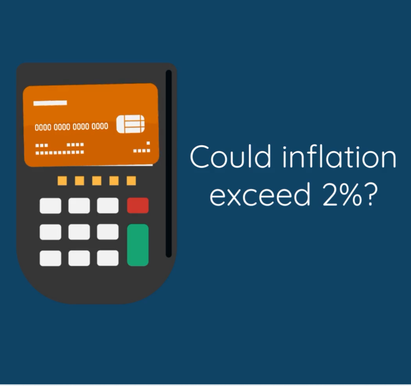 Could inflation exceed 2%?